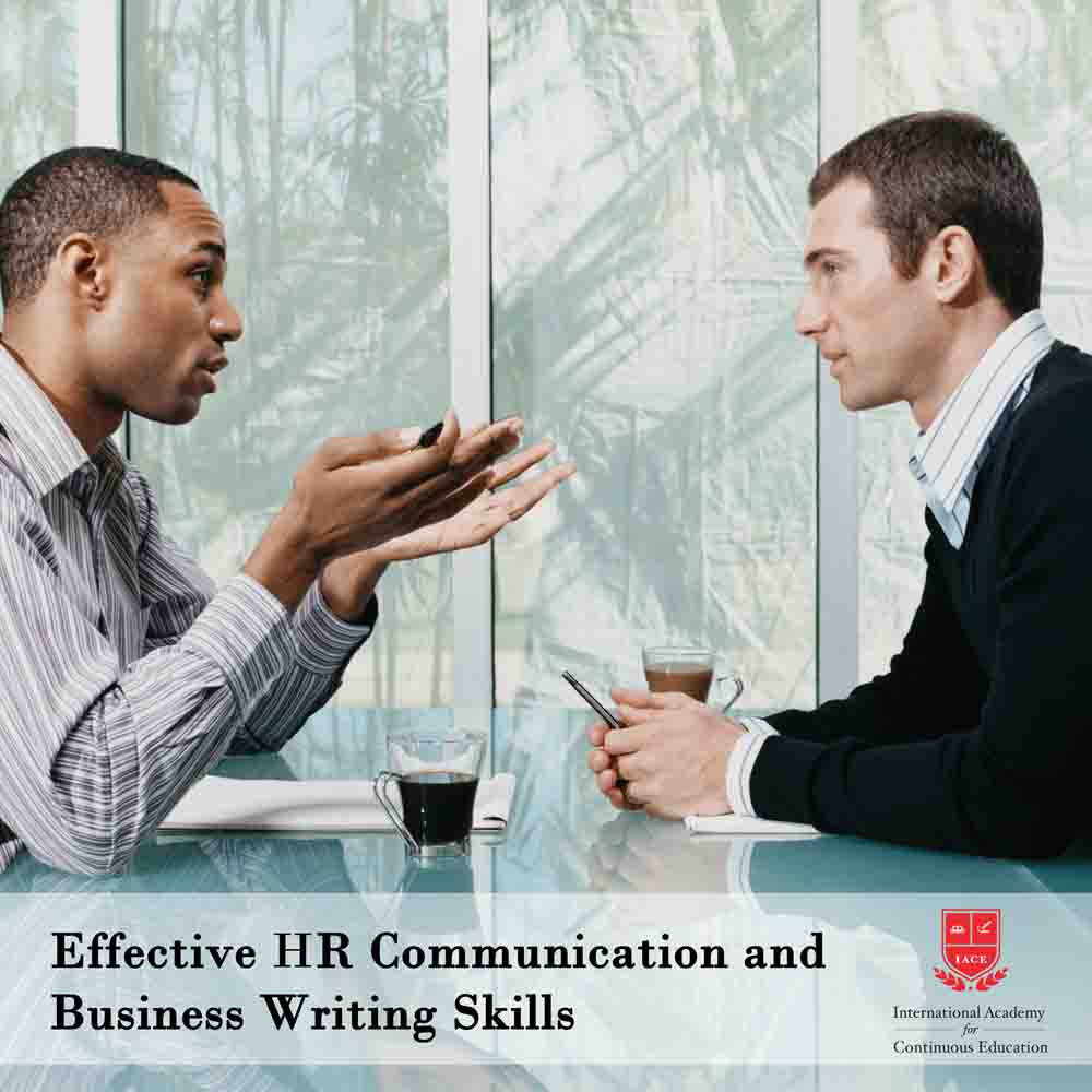 Effective Human Resources Communication and Business Writing Skills
