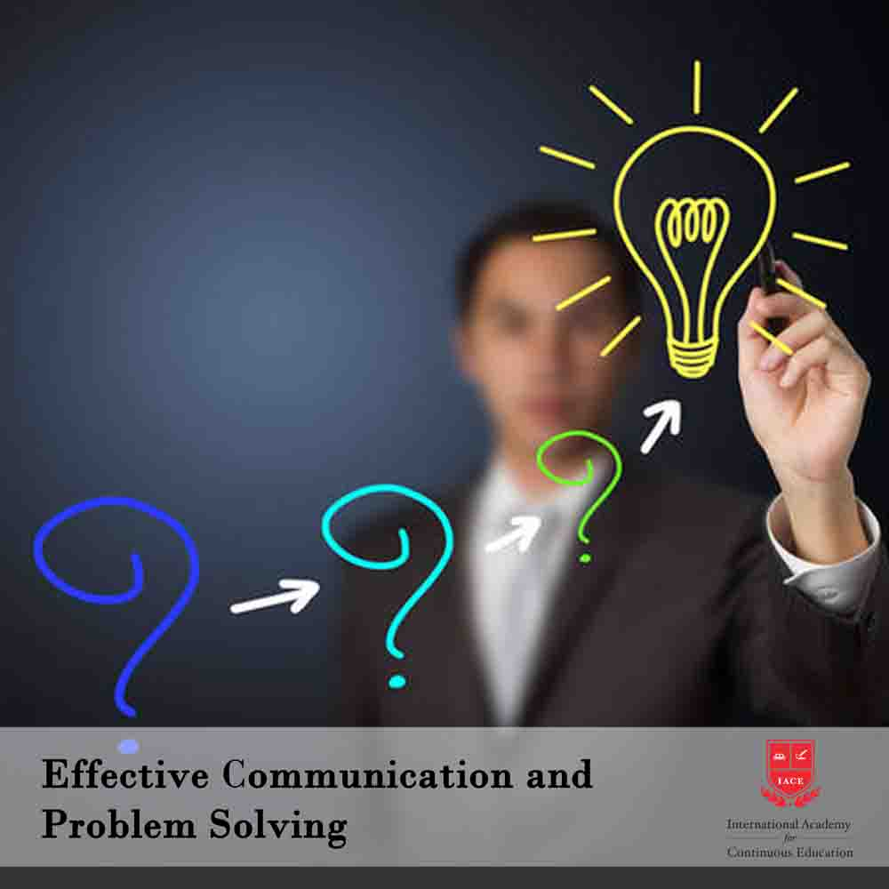 effectivecommunicationandproblemsolving