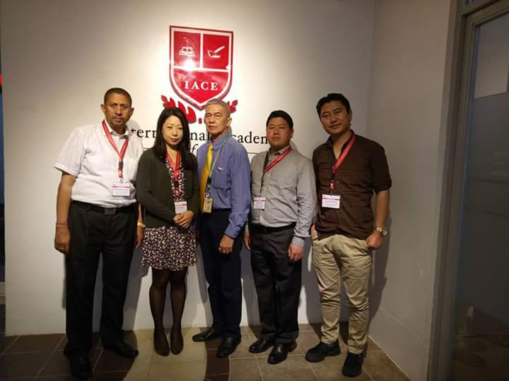 Delegates from JDWNRH together with Dr. Juan Nanagas