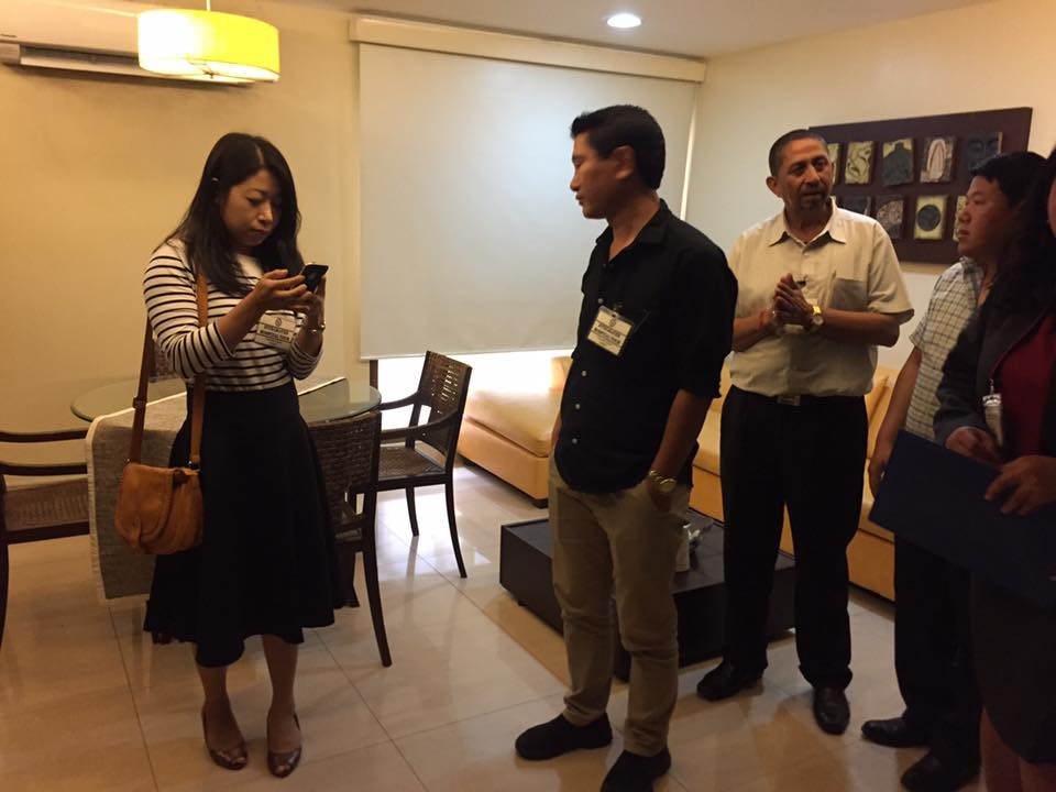 "JDWNRH delegates visited ""hotel"" like atmosphere room of St. Lukes Hospital"
