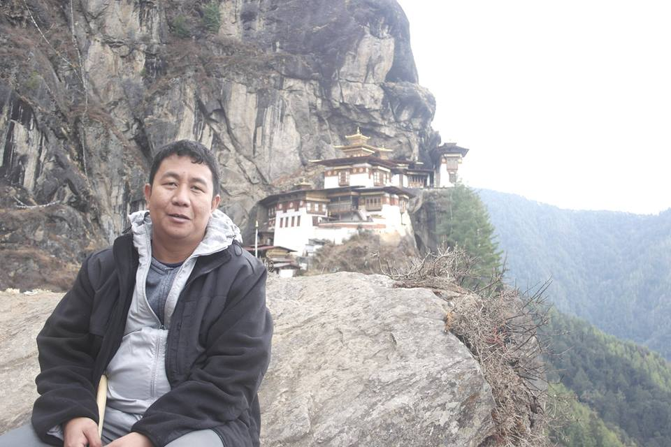 Regie's picture in Tiger's Nest